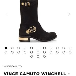 Vince Camuto Winchell-Moto Boot